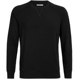 Icebreaker Momentum T-shirt manches longues à col ras-du-cou Homme, black